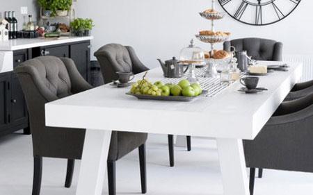 مدل های لوکس و جدید میز ناهارخوری 2018