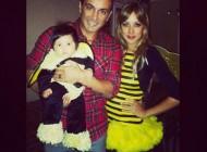 عکس شادمهر عقیلی به همراه همسرش در جشن هالووین