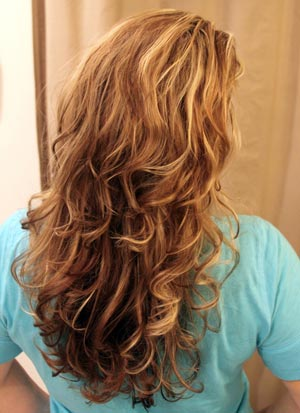 فر کردن موی سر