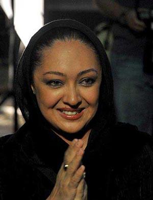 """حجاب منشوری """"نیکی کریمی"""" در یکی از روزهای پاییز! +عکس"""