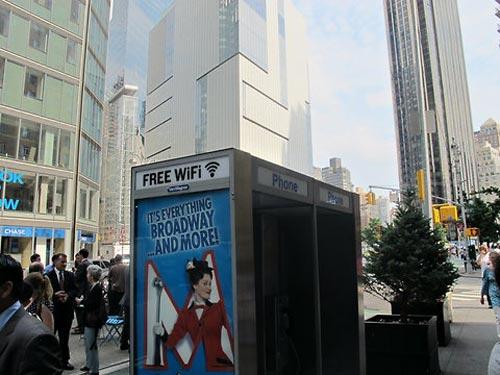 اینترنت بیسیم رایگان در خیابان های نیویورک آمریکا +عکس