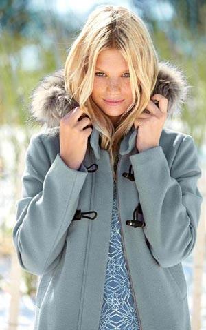 مدل های جدید پالتوی دخترانه 2014