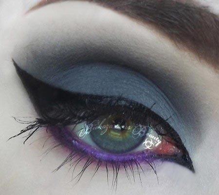 زیباترین آرایش های چشم مجلسی
