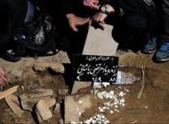 """دفن شبانه خواننده محبوب ایران """"مرتضی پاشایی"""" +عکس"""
