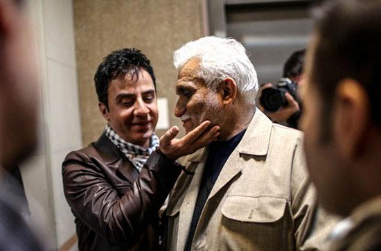 چهره های نگران برای وضعیت مرتضی پاشایی +عکس