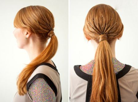 مدل های جدید و زیبای ایتالیایی بستن مو از پشت سر