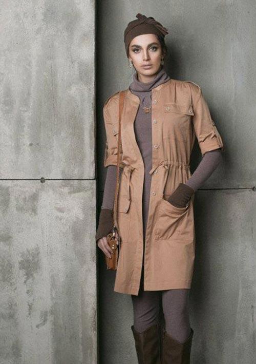 انواع مدل های جدید مانتو برند ایرانی پوش ما
