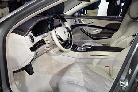 عکس هایی جدید از مرسدس بنز Maybach S600