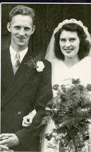 زوج خوشبختی که همیشه در کنار هم بودند! +عکس