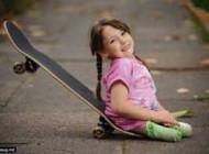 تصاویر دختری بدون پا