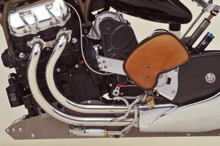 ساخت عجیب ترین موتورسیکلت پروازی +عکس