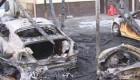 12 خودروی گرانقیمت در آتش! +عکس