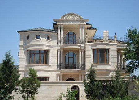 زیباترین نماهای خانه ها