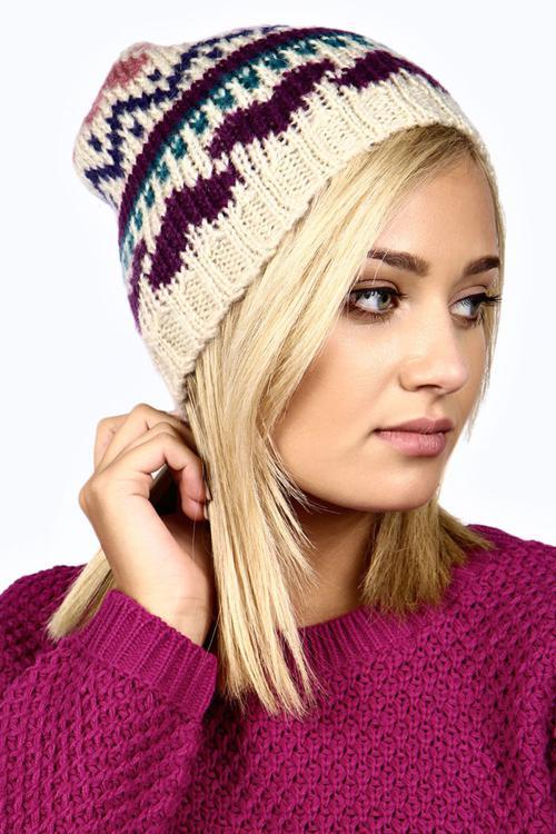 مدل های جدید و شیک کلاه بافتنی دخترانه و زنانه 2015
