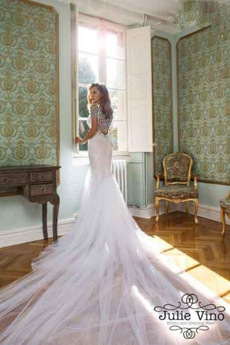 مدل های جدید لباس عروس 2015