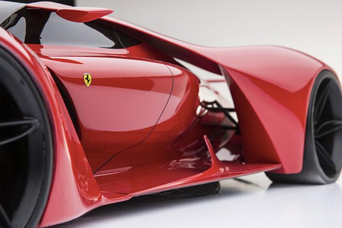 طراحی جالب فراری سوپر اسپورت F80 +عکس