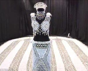 مدل عجیب لباس عروس