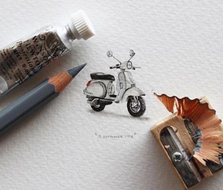 برنامه عجیب یک هنرمند برای روز عروسی اش +عکس
