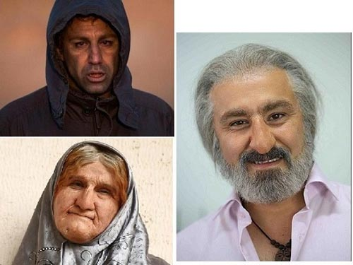 11 گریم سنگین و عجیب بازیگران سینمای ایران +تصاویر