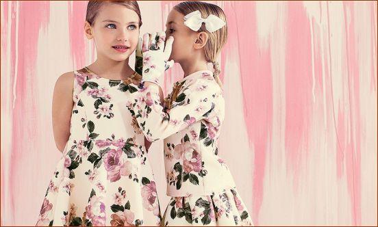 مدل های جدید لباس زمستانه دخترانه برند Monnalisa