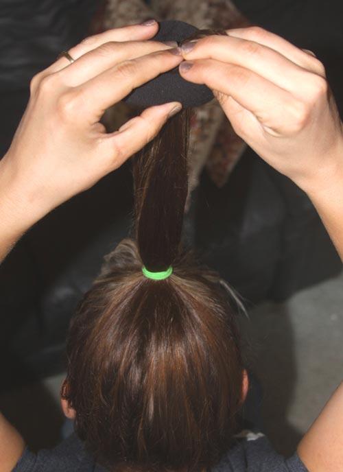 فر کردن موی سر بدون حرارت +عکس