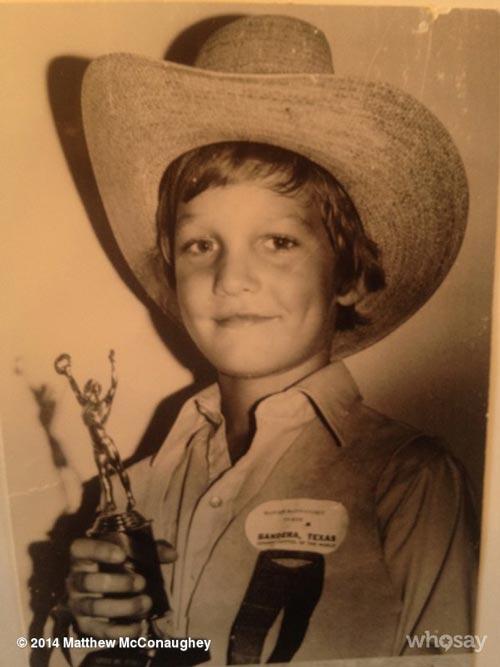 عکس های دیدنی دوران کودکی متیو مکانهی ستاره اسکار 2014 +عکس
