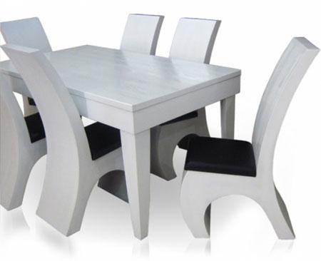 مدل های لوکس میز ناهارخوری