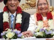 ماجرای جشن تولد 90 سالگی زوج عاشق هندی! +عکس