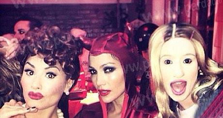 جنیفر لوپز در مراسم جشن هالووین +عکس