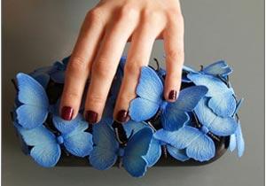 آموزش تصویری ساخت کیف پروانه ای