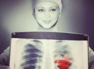 قلب بهنوش بختیاری! +عکس