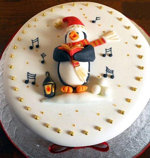 مدل کیک های زیبای مخصوص جشن کریسمس