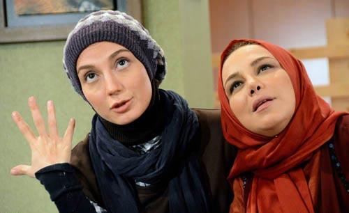 عکس های جالب سریال مشترک محمدرضا گلزار و مهناز افشار