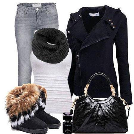 مدل های شیک لباس زمستانی زنانه 2015