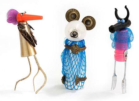 ایده های جالب و خلاقانه با بطری های پلاستیکی