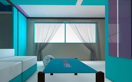 روش های زیبا کردن اتاق نشیمن منزل