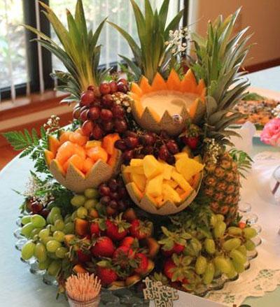 میوه آرایی در شب یلدا