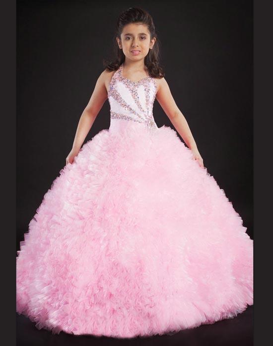 انواع مدل های جدید لباس پفی دخترانه