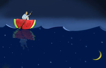 کاریکاتورهای جدید شب یلدا