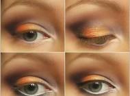 آرایش چشم فصل هاي سرد +آموزش تصویری