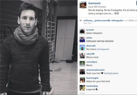 واکنش مسی به تست دوپینگ! +عکس