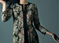 انواع مدل های های جدید مانتو ایرانی Organza Design