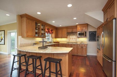 مدل های جدید شیک دکوراسیون آشپزخانه 2015