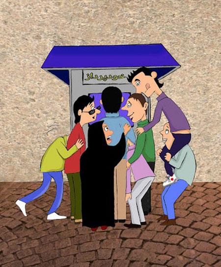 سری جدید کاریکاتورهای مفهومی و جالب