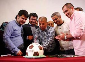حضور ستارگان فوتبال در سريال آخرين سلطان +عکس