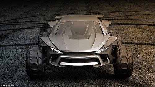 خودروی تپه نوردی با سرعت 150 کیلومتر در ساعت!+عکس
