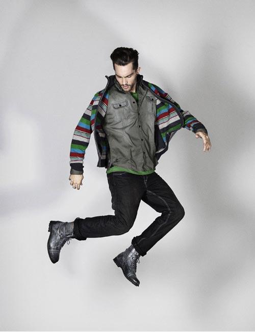 انواع مدل های جدید لباس مردانه Frank Q