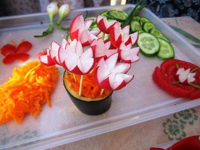 سری جدید تزیینات سبزی خوردنی