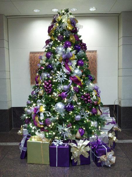 نمونه هایی زیبا از تزیین درخت کریسمس سال 2015
