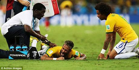 بدترین صحنه زندگی یک فوتبالیست مشهور +عکس